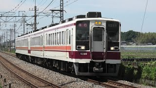 東武6050系6050型6160F 急行東武日光行 静和~新大平下通過【4K】