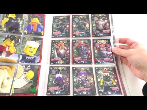 LEGO Ninjago Trading Card Game Serie 3 / Mappenupdate alle 250 Karten