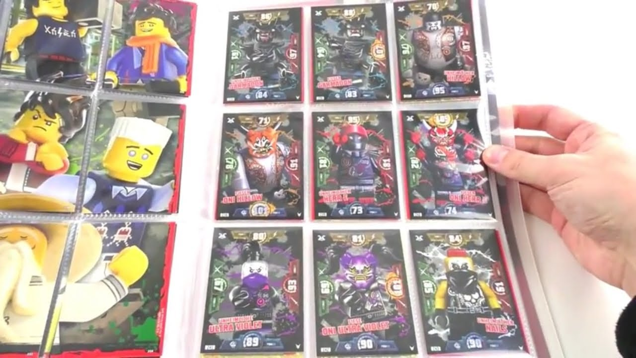 Lego Ninjago Trading Card Game Serie 3 Mappenupdate Alle 250