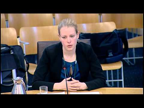 Welfare Reform Committee - Scottish Parliament: 19th May 2015