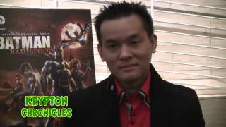 BATMAN: BAD BLOOD (Los Angeles Premiere) - Interview With Jay Oliva (Director).