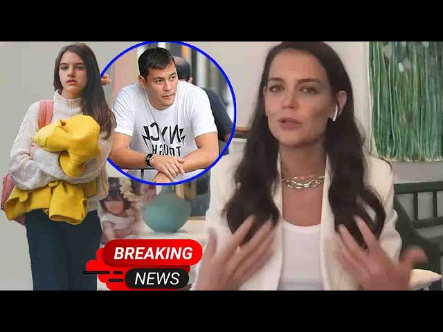 Katie Holmes explained. Why Suri Cruise left after boyfriend Emilio Vitolo Jr. about living together