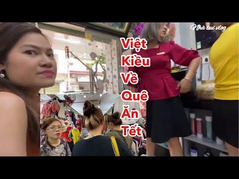 Việt kiều về quê ăn Tết   ngày 28 Tết ở Sài Gòn   chợ, phố áo dài , đường hoa   làm tóc đón Tết