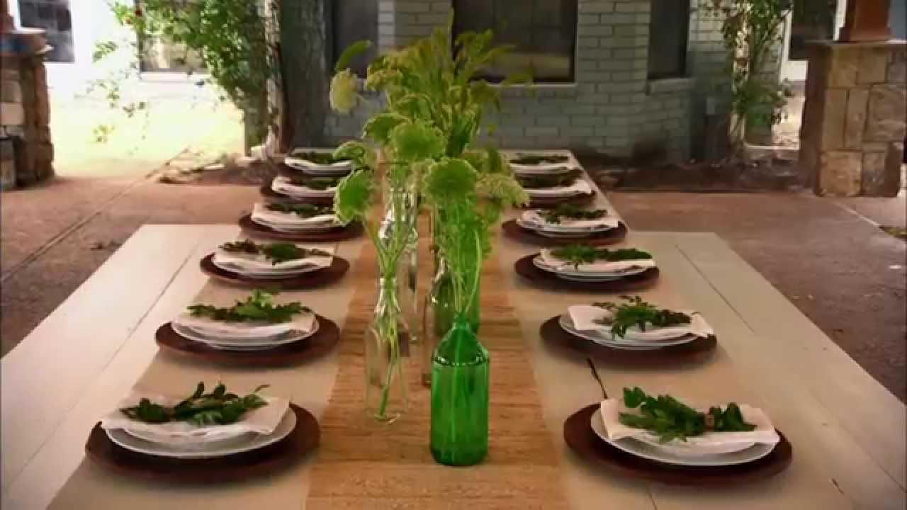 Table Setting | Fixer Upper | HGTV Asia - YouTube