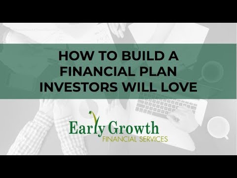 How to Build a Financial Plan that Investors Will Love :: Imagine H2O