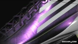 adidas F50 adizero SG/FG Hybrid - Chameleon Purple/White/Electricity Firm Ground Soccer Shoes