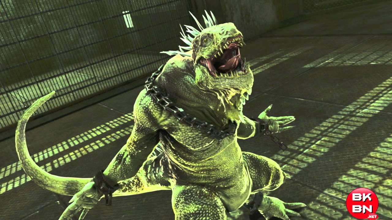 The Amazing Spider Man Movie Video Game Playground Iguana