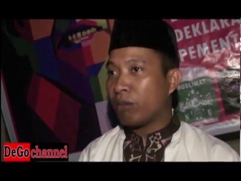 Gus Dur  Dilempari Sandal di Gorontalo
