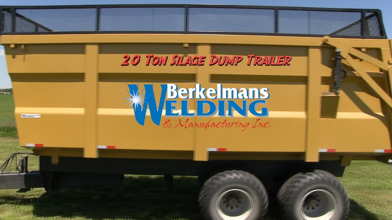 Farm and Construction Hydraulic Dump Trailers and roll off trailer