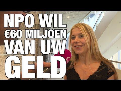 GSTV: NPO wil €60 miljoen van uw geld hebben!