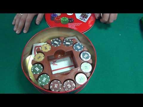Набор для покера на 240 фишек Техасский холдем