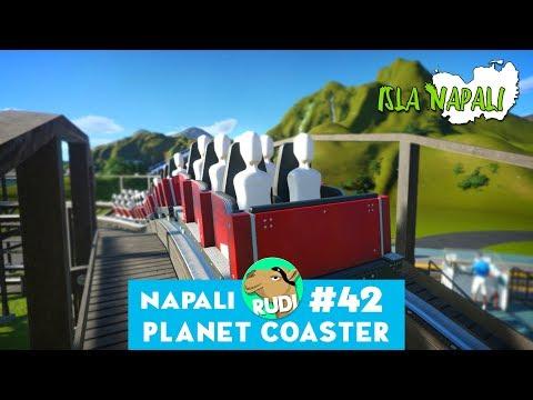 Isla Napali - Planet Coaster | Hyper Realistic Park & UGC Wooden Coaster