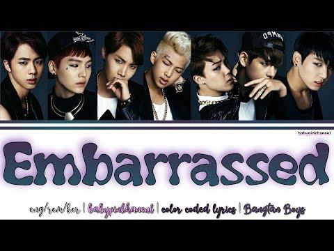 BTS (방탄소년단) - Embarrassed (이불킥) ENG/HAN/ROM Color Coded Lyrics