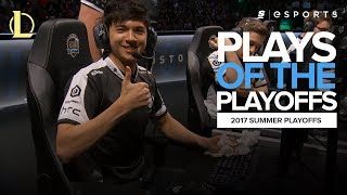 Plays of the Playoffs: Feat Hauntzer, Huni and Sneaky (2017 summer playoffs NA, EU & LCK highlights)