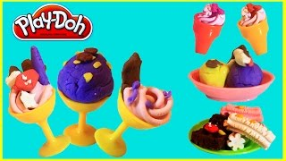 Play-Doh ice cream | Play-doh Cookie Monster Ice Cream Maker or Sweet Shoppe Dough