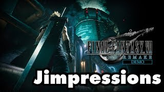 Final Fantasy VII Remake Demo - Jessie's Gotta Have It (Jimpressions) (Video Game Video Review)