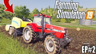 FARMING SIMULATOR 2019 - FARM WORK! EP#2 - CASE + NEW HOLLAND