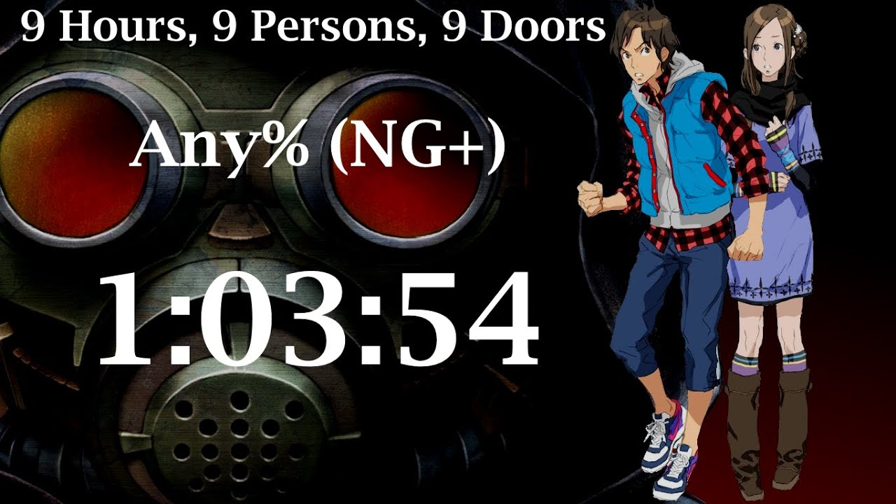 9 Hours 9 Persons 9 Doors Any Ng 1 03 54 Speedrun Youtube