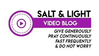 1.Salt and Light 19.03.20