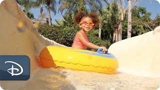 #DisneyKids: First Water Slide at Walt Disney World Resort   Disney Parks