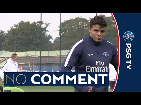 NO COMMENT - zapping THIAGO SILVA SERGE AURIER IBRAHIMOVIC