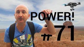 POWER! #71 : Hexo+, le drone autonome + Pizza Movie !