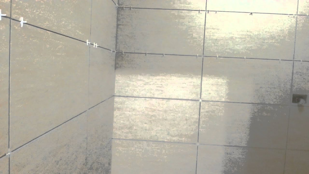 Tile Installation - Bathroom - Part 1 - YouTube