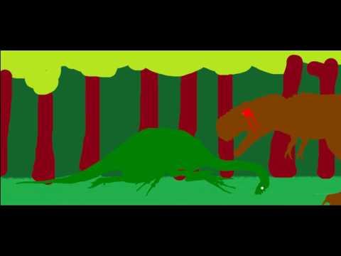 Tyrannosaurus vs Therizinosaurus