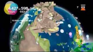 Katamari Forever - Wake up the King! - 2 million km on KF mode