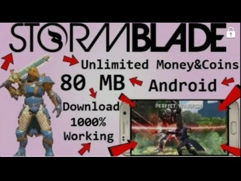(80MB)Download Storm Blade Mod Game Unlimited Money&Coins On Any Android Mobile (Hindi)🔴link👍👍👍↙