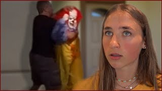 Dad Tackles Scary Killer Clown After He Breaks in - We Left Florida!