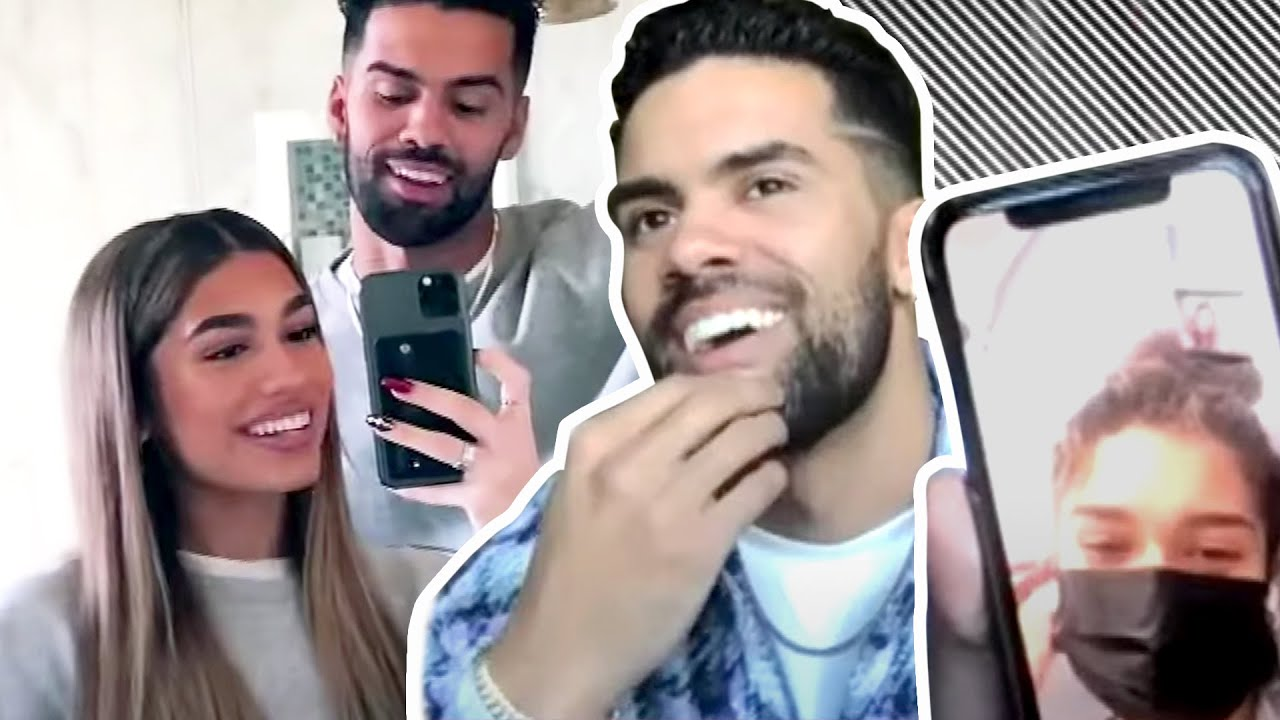 Watch Nate Wyatt FACETIME Aisha Mian to Talk DATING Rumors | Full Interview