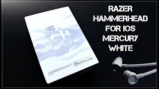 UNBOXING - RAZER HAMMERHEAD FOR IOS(MERCURY WHITE)
