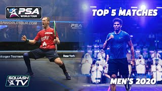 Squash: Top 5 Men's Matches Of Year 2020