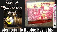 Spirit of Halloween Town 2017 Event ~ Dedication of Memorial to Debbie Reynolds w/Stars