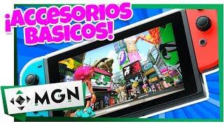 5 Accesorios Básicos Que Debe Tener Tu Nintendo Switch | MGN