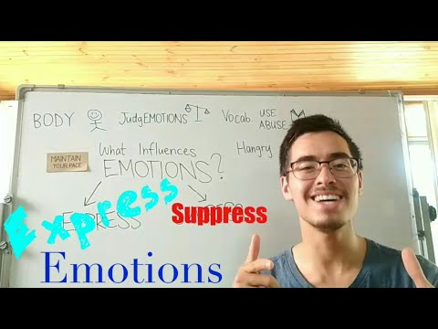Ways to Express (not suppress) your Emotions - Express Yourself #9