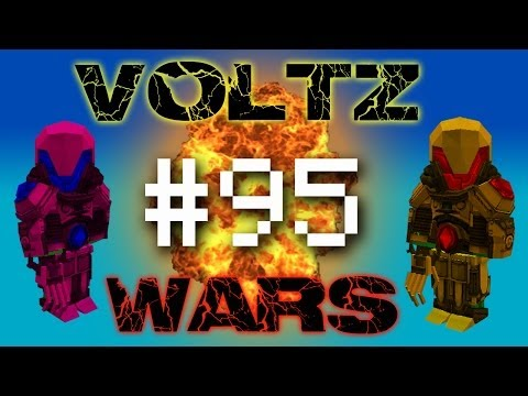 Minecraft Voltz Wars - Defending the Solar Fort! #95