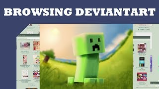 Browsing Deviantart: Minecraft Fan Art thumbnail