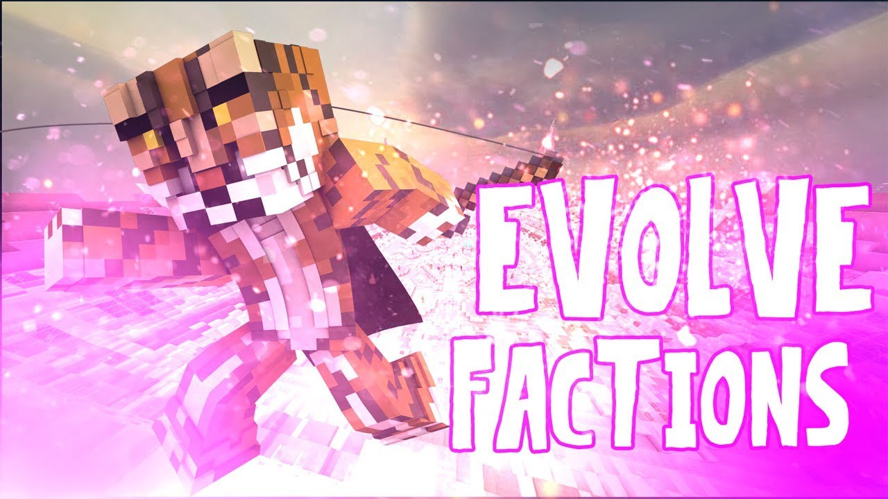 SS Evolve Factions Realms [PvP] | Minecraft PE Maps