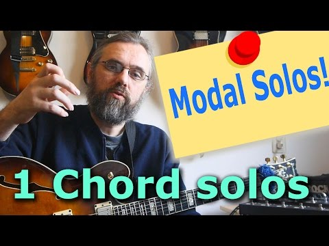 Modal Guitar Solo - Sound melodic! 🎸 Call and Response and Motifs-  Jazz guitar Solo Lesson