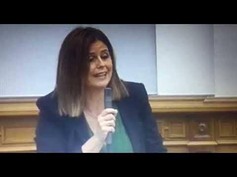 Inmaculada Herranz, consejera de Podemos, responde al PP sobre la Renta Garantizada