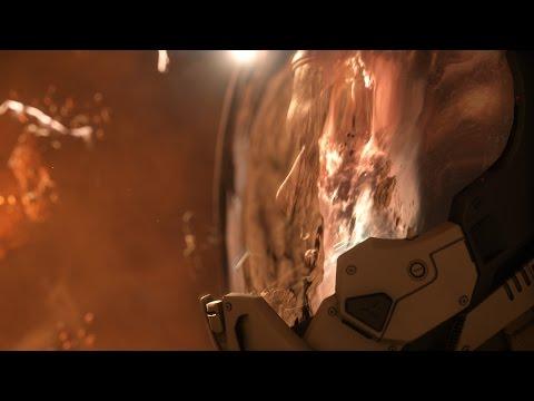 Star Citizen Alpha 2.6 Dying Star Director Mode Side Shot 4k UHD