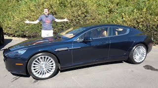 A Used Aston Martin Rapide Is a $60,000 Ultra-Luxury Bargain