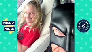 TRY NOT TO LAUGH - Funny BatDad Instagram Videos!