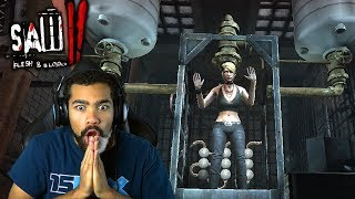 I HAVE TO SAVE HER IN THAT THING?! | Saw II: Flesh and Blood | #5