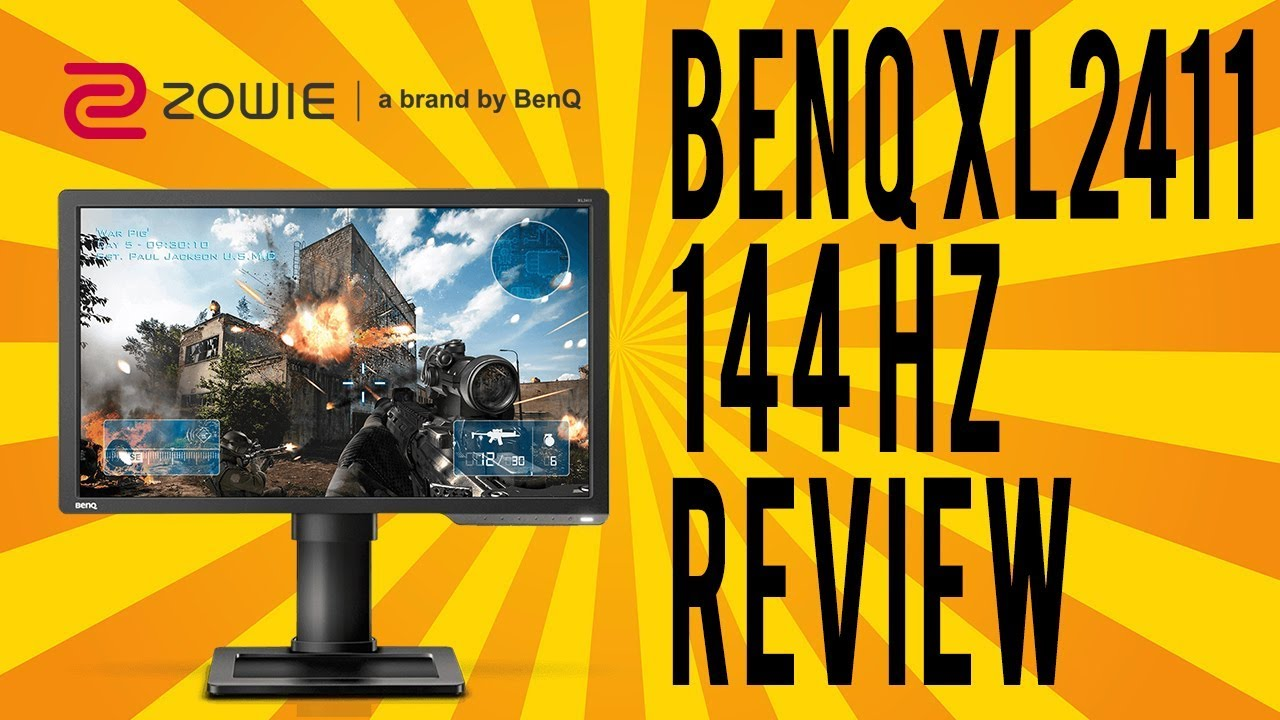 BENQ XL2411 144 HZ Budget Gaming Monitor Review