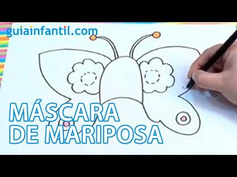 Disfraces carnaval para ni os antifaz de mariposa youtube - Difraces para carnaval ...
