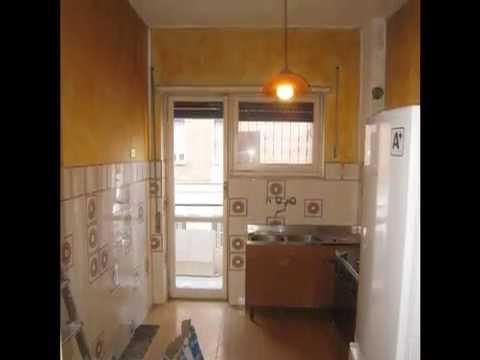 Appartamento Tuscolano  Prima e dopo la ristrutturazione