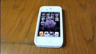 Funda para el iPhone 4 (Wrapz iFrogz)